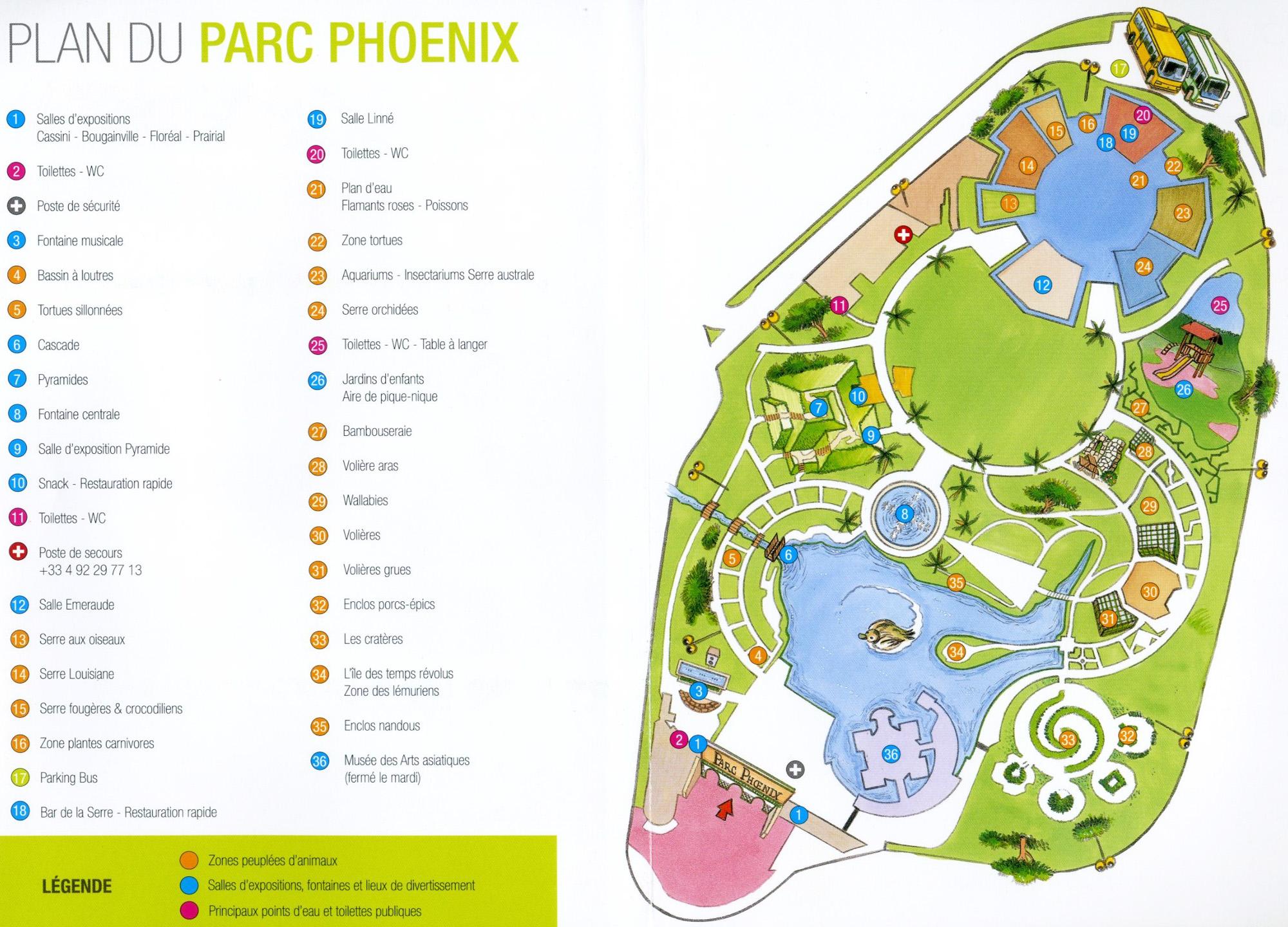 Les Zoos dans le Monde - Parc Phoenix
